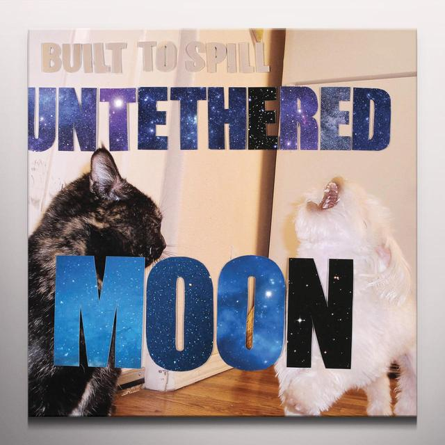 Built To Spill UNTETHERED MOON (BONUS CD) Vinyl Record - Colored Vinyl