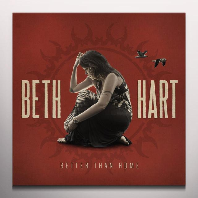 Beth Hart BETTER THAN HOME Vinyl Record - Colored Vinyl, Digital Download Included