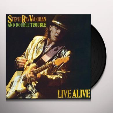 Stevie Ray Vaughan LIVE ALIVE Vinyl Record