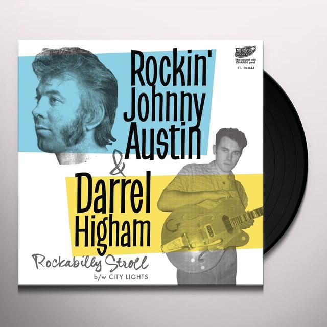 Rockin' Johnny Austin / Darrel Higham ROCKABILLY STROLL Vinyl Record - Spain Import