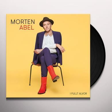 Morten Abel I FULLT ALVOR Vinyl Record