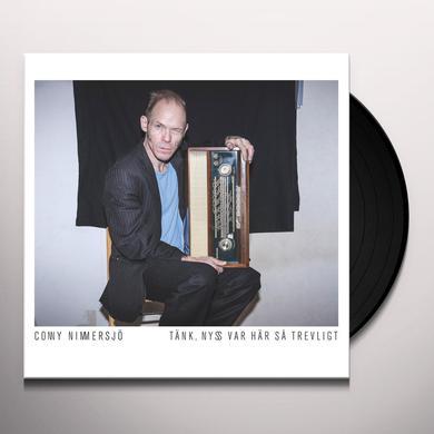 Conny Nimmersjö TANK NYSS VAR HAR SA TREVLIGT Vinyl Record