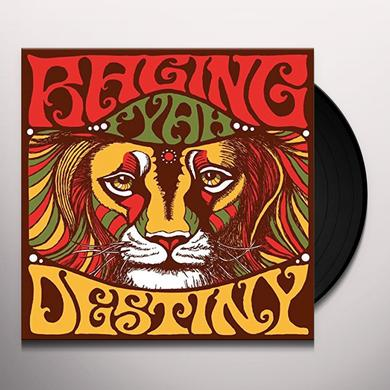 Fyah Raging DESTINY Vinyl Record