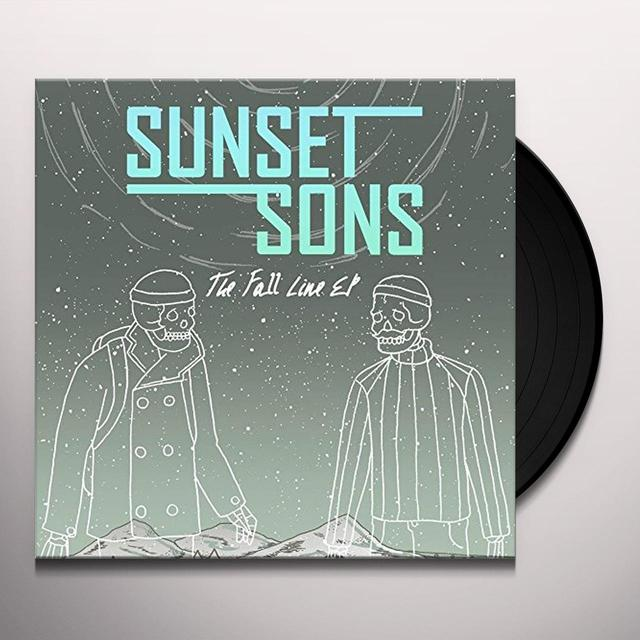 Sunset Sons FALL LINE   (EP) Vinyl Record - UK Import, 10 Inch Single