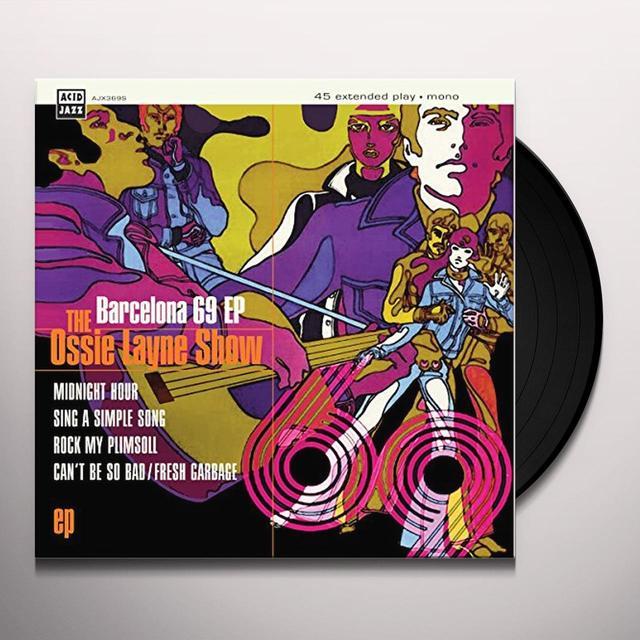 OSSIE LAYNE SHOW BARCELONA 69 Vinyl Record - UK Import
