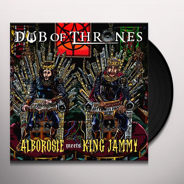 ALBOROSIE / KING JAMMY DUB OF THRONES Vinyl Record