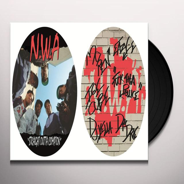 N.W.A. STRAIGHT OUTTA COMPTON Vinyl Record - Picture Disc