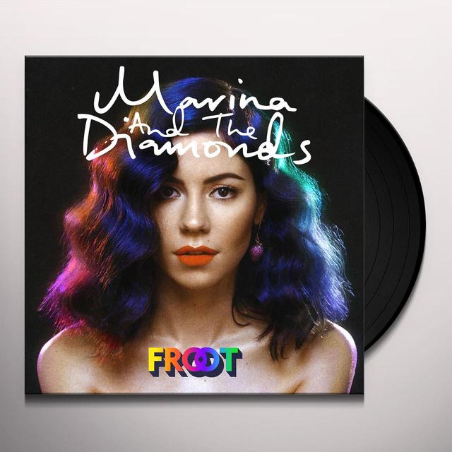 Marina & The Diamonds FROOT (BONUS CD) Vinyl Record