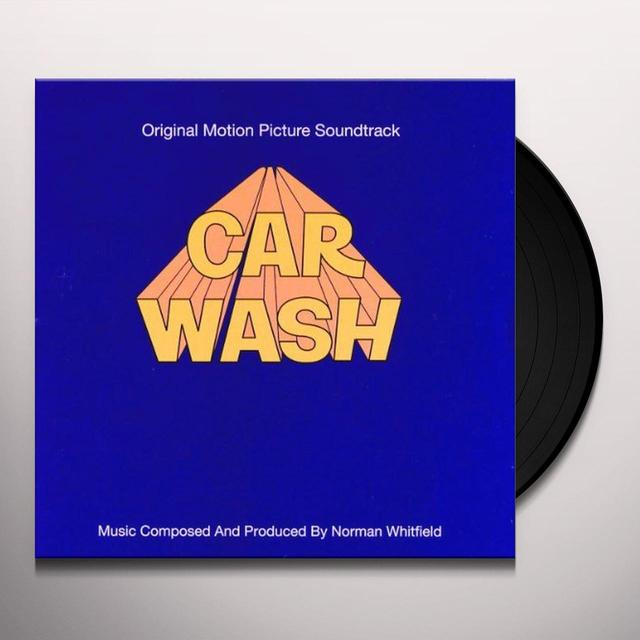 CAR WASH / O.S.T. Vinyl Record