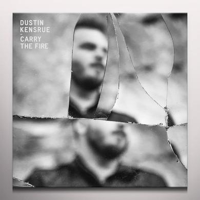 Dustin Kensrue CARRY THE FIRE Vinyl Record - Colored Vinyl, Limited Edition, 180 Gram Pressing, Orange Vinyl, Red Vinyl