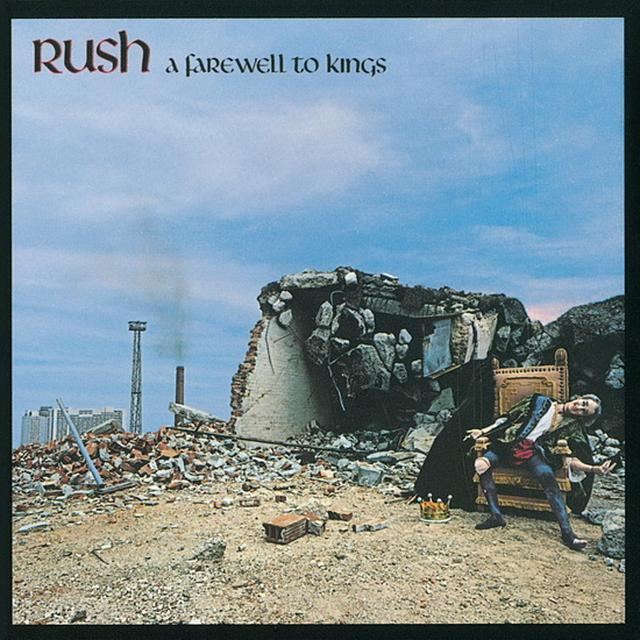 Rush FAREWELL TO KINGS Vinyl Record