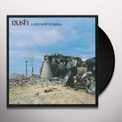 Rush FAREWELL TO KINGS Vinyl Record