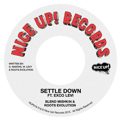 BLEND MISHKIN & ROOTS EVOLUTION SETTLE DOWN Vinyl Record