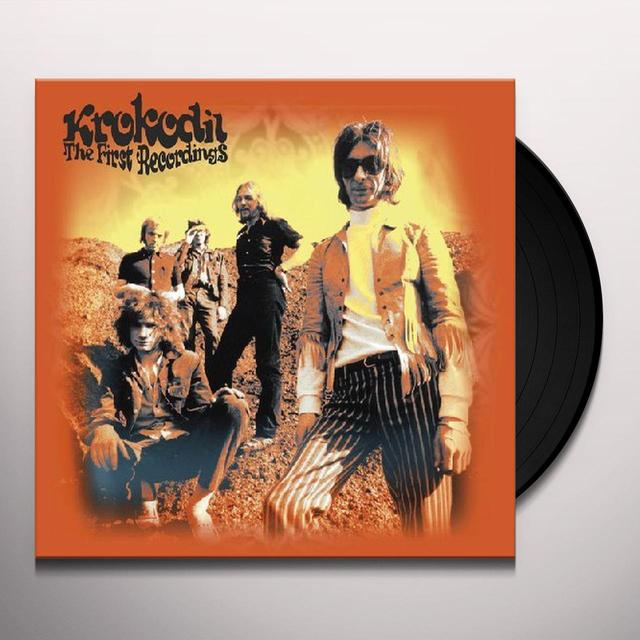 Krokodil FIRST RECORDINGS (W/DVD) Vinyl Record - Limited Edition, 180 Gram Pressing