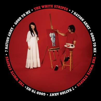 The White Stripes SEVEN NATION ARMY / GOOD TO ME Vinyl Record