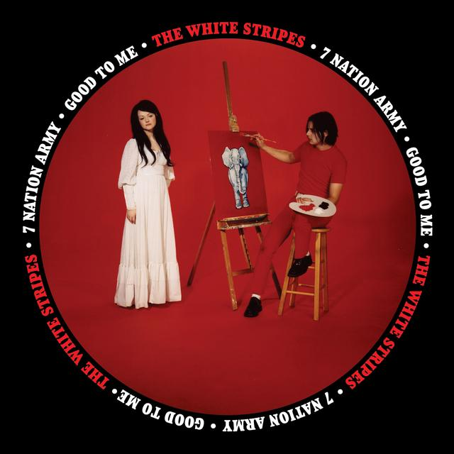 The White Stripes SEVEN NATION ARMY / GOOD TO ME Vinyl Record