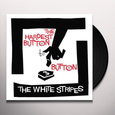 The White Stripes HARDEST BUTTON TO BUTTON / ST. IDES OF MARCH Vinyl Record - Black Vinyl