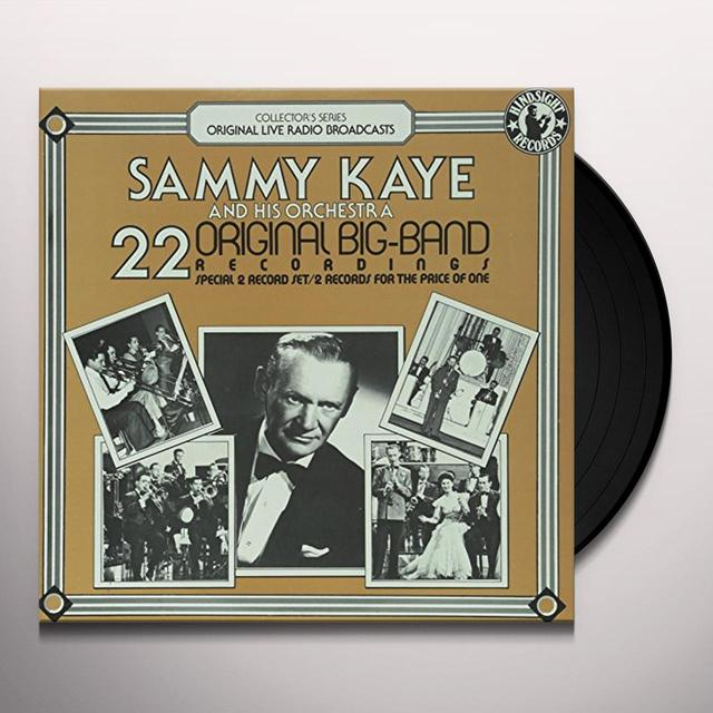 Sammy Kaye Orchestra 22 ORIGINAL BIG BAND RECORDINGS Vinyl Record