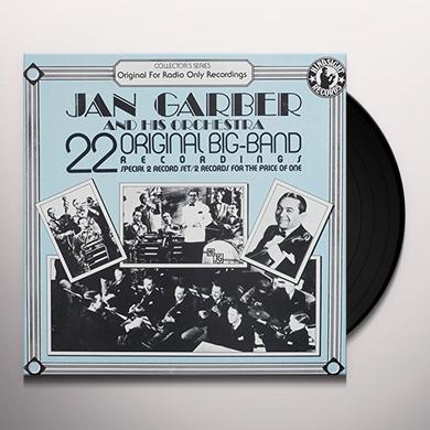 Jan Garber Orchestra 22 ORIGINAL BIG BAND RECORDINGS Vinyl Record