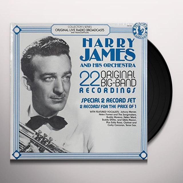 Harry James Orchestra 22 ORIGINAL BIG BAND RECORDINGS Vinyl Record