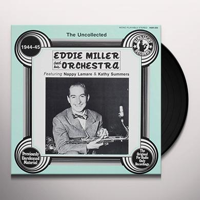 Eddie Miller Orchestra UNCOLLECTED Vinyl Record
