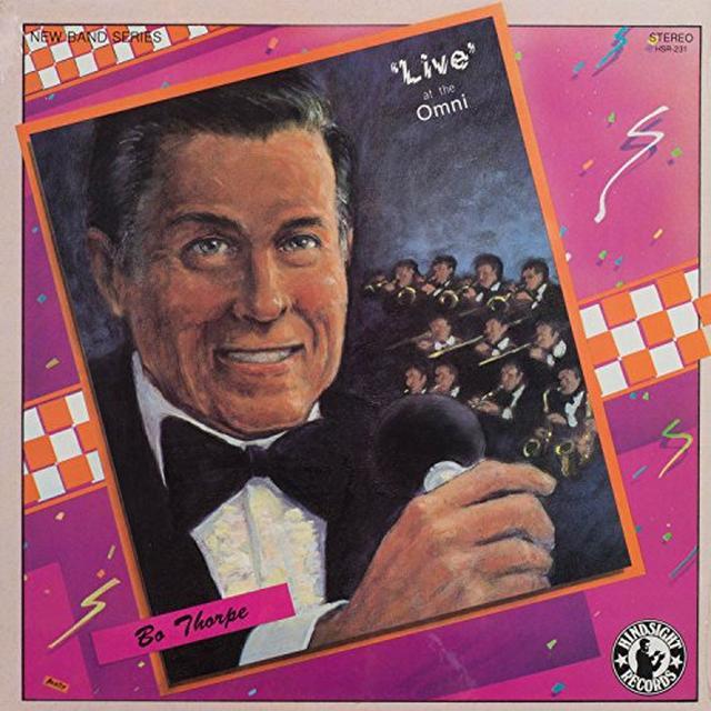 Bob Thorpe LIVE AT THE OMNI Vinyl Record