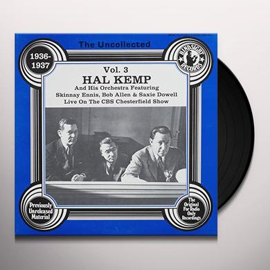 Hal Kemp Orchestra UNCOLLECTED VOLUME 3 Vinyl Record