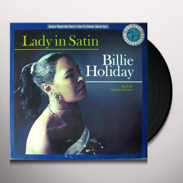 Billie Holiday LADY IN SATIN Vinyl Record
