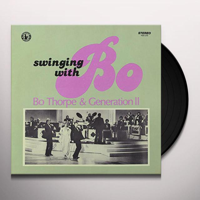 Bo Thorpe & Generation Ii SWINGING WITH BO 2 Vinyl Record