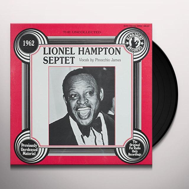 Lionel Hampton Septet UNCOLLECTED Vinyl Record