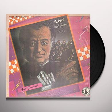 Zim Zemarel & His Orchestra LIVE AT THE HYATT REGENCY Vinyl Record
