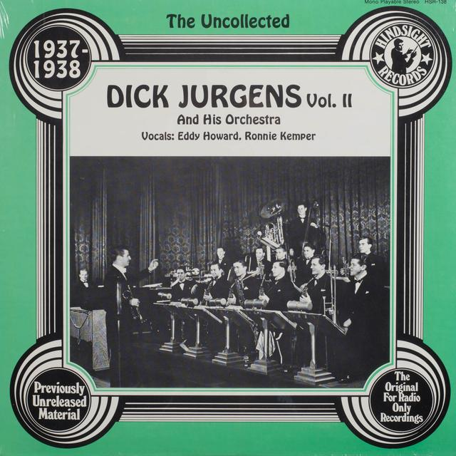 Dick Jurgens Orchestra UNCOLLECTED II Vinyl Record