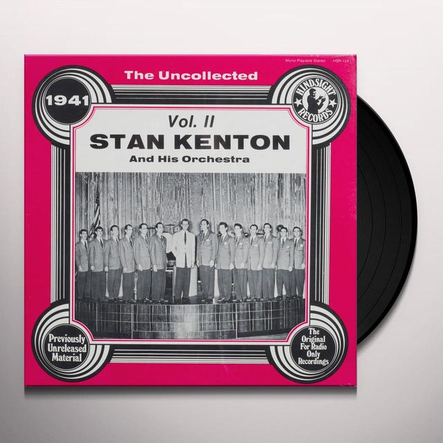 Stan Kenton Orchestra UNCOLLECTED II Vinyl Record