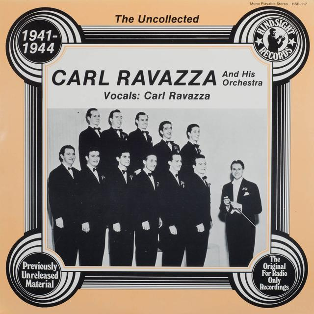 Carl Ravazza Orchestra UNCOLLECTED Vinyl Record