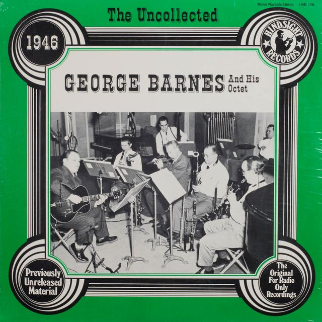 George Barnes & Orchestra UNCOLLECTED Vinyl Record