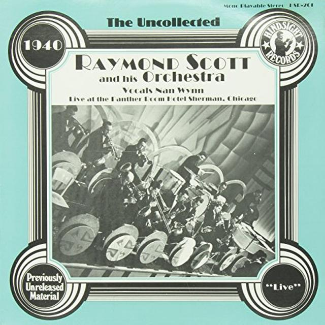 Raymond Scott Orchestra UNCOLLECTED Vinyl Record