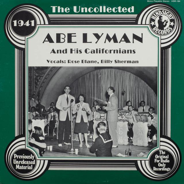 Abe Lyman & His Calfornians