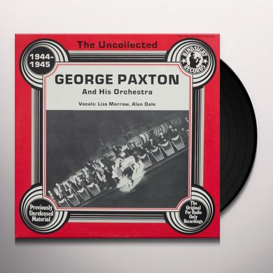 George Paxton and His Orchestra UNCOLLECTED Vinyl Record