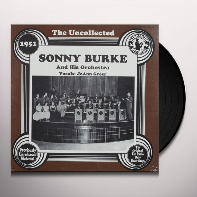 Sonny Burke Orchestra UNCOLLECTED Vinyl Record