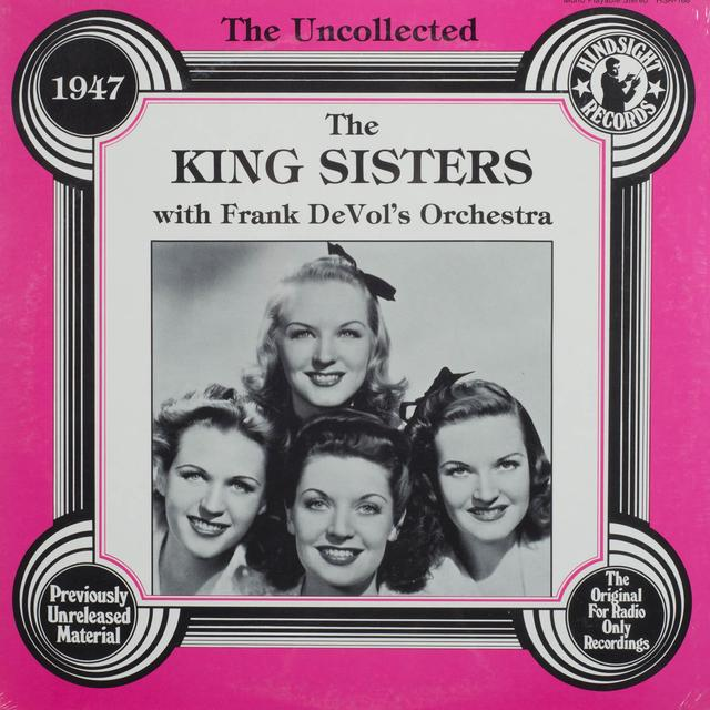 King Sisters / Frank Orchestra Devol'S UNCOLLECTED Vinyl Record
