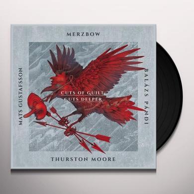 Merzbow / Mats Gustafsson / Balazs Pandi / Moore CUTS OF GUILT CUTS DEEPER Vinyl Record