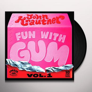 John Krautner FUN WITH GUM 1 Vinyl Record - Digital Download Included