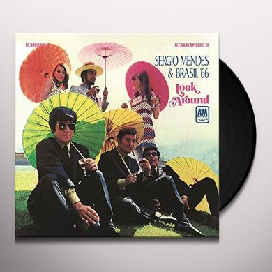 Sergio Mendes & Brasil '66 LOOK AROUND Vinyl Record - Holland Import