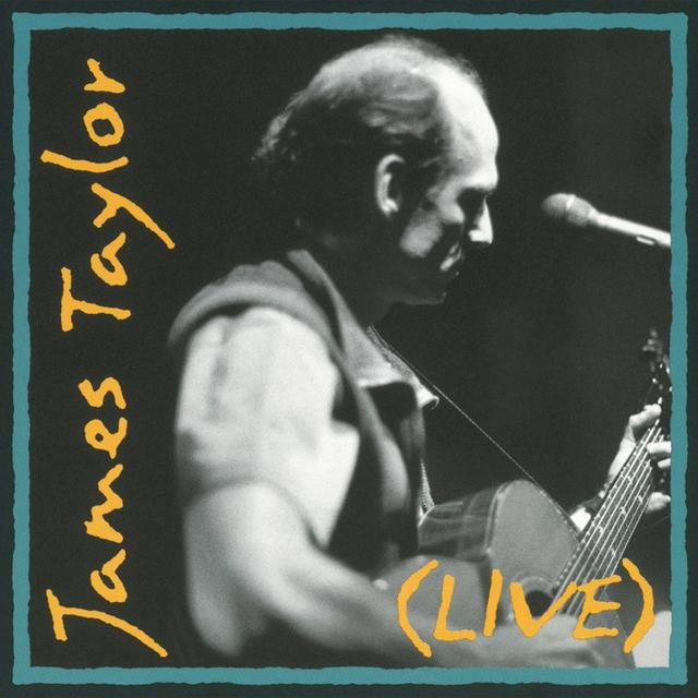 James Taylor LIVE Vinyl Record