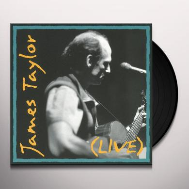 James Taylor LIVE Vinyl Record - Holland Import