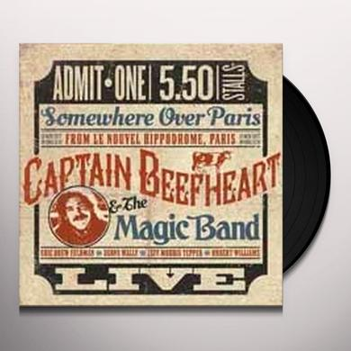 Captain Beefheart SOMEWHERE OVER PARIS: LIVE Vinyl Record - UK Import