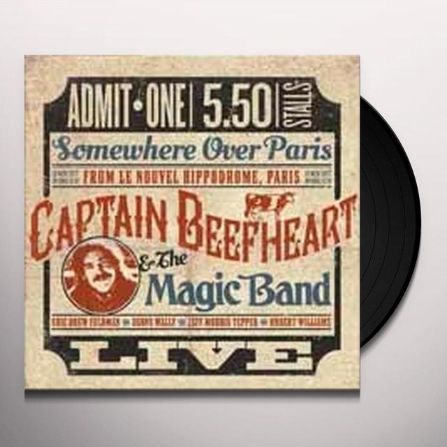 Captain Beefheart SOMEWHERE OVER PARIS: LIVE Vinyl Record - UK Import