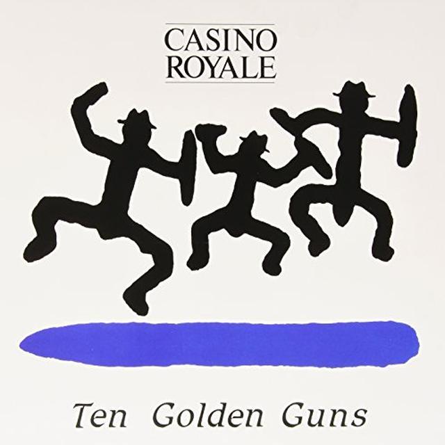 Casino Royale TEN GOLDEN GUNS Vinyl Record