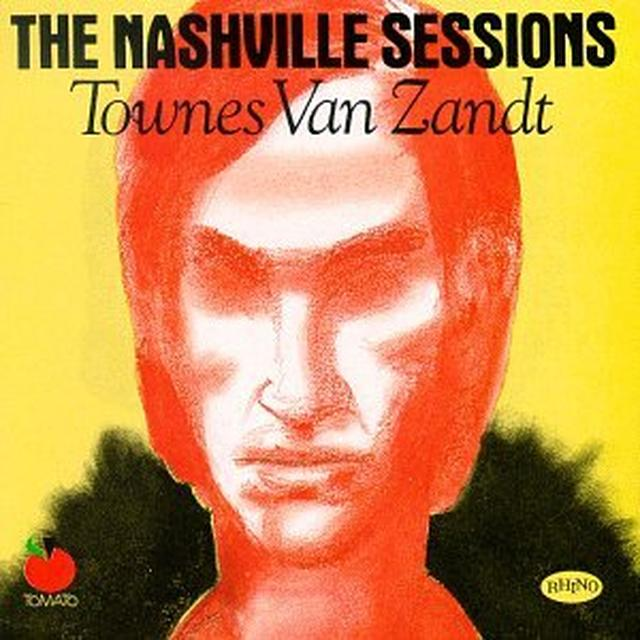 Townes Van Zandt NASHVILLE SESSIONS Vinyl Record - UK Import