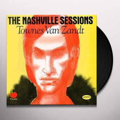 Townes Van Zandt NASHVILLE SESSIONS Vinyl Record